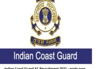 Indian Coast Guard AC Recruitment 2021 – apply now for 5o posts